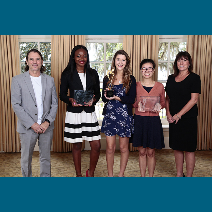 Scheidel Scholarship Luncheon Recognizes Student Volunteers