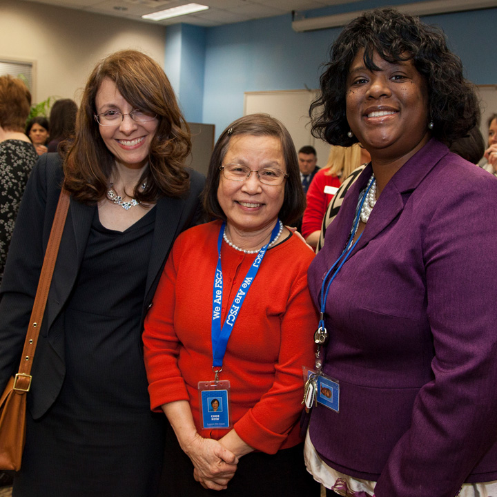 Faculty and Staff Celebrate Together During Holiday Open House