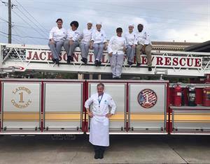 Culinary Students Coo for JFRD