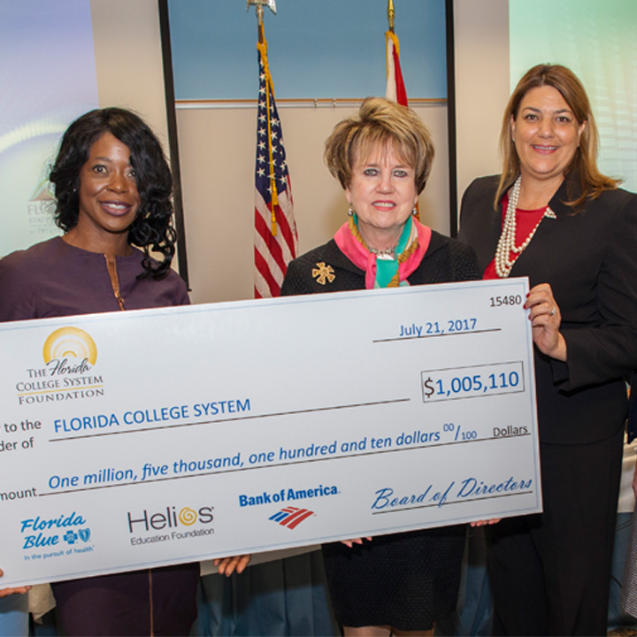 FSCJ Receives Donation to Support Scholarships from the Florida College System Foundation