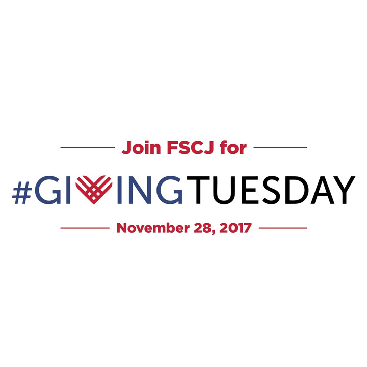 Join FSCJ As We Celebrate #GivingTuesday