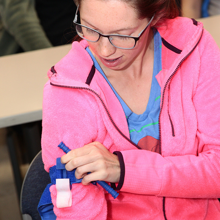 EMS Students Take Part in Stop the Bleed Training