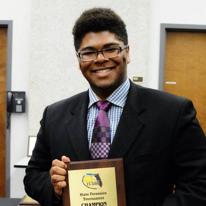 FSCJ Student Wins at FCSAA Forensics State Tournament