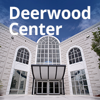 Picture of the front of the Deerwood Center building