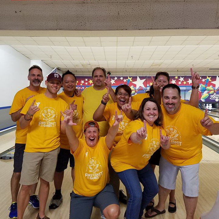 Teams Represent FSCJ at YMCA First Coast Games