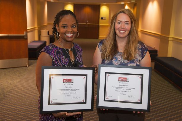 FSCJ Faculty and Staff Member Honored with Innovation of the Year Awards