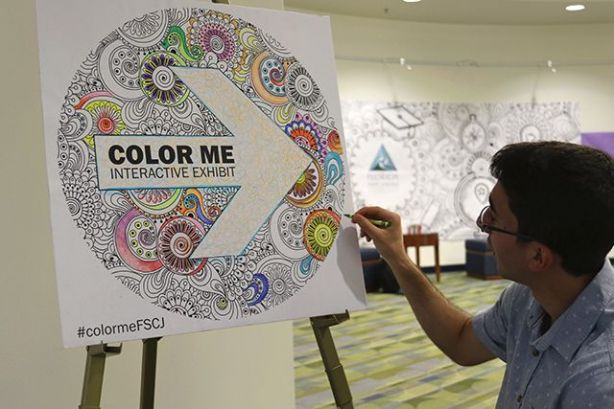 College Hosts #ColorMeFSCJ Art Exhibition