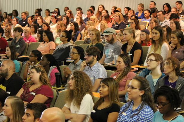 Health Students Attend First Common Orientation