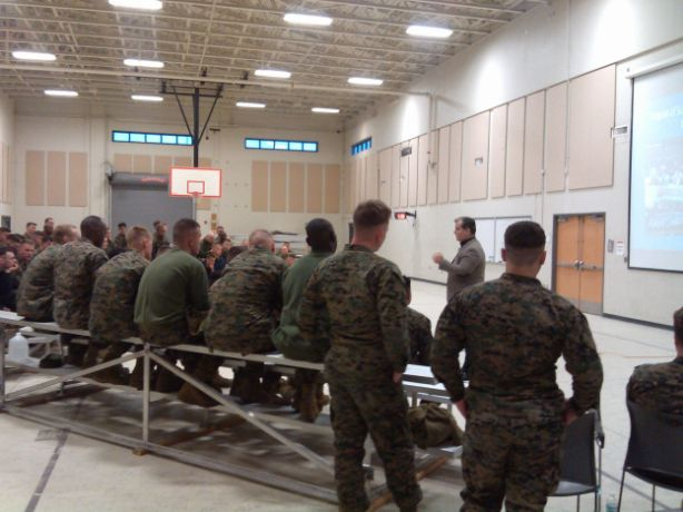 FSCJ's Dr. Andrew Holt Presents Lectures to US Marines