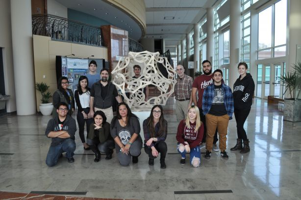 Artist George Hart Fabricates Sculpture with FSCJ Students