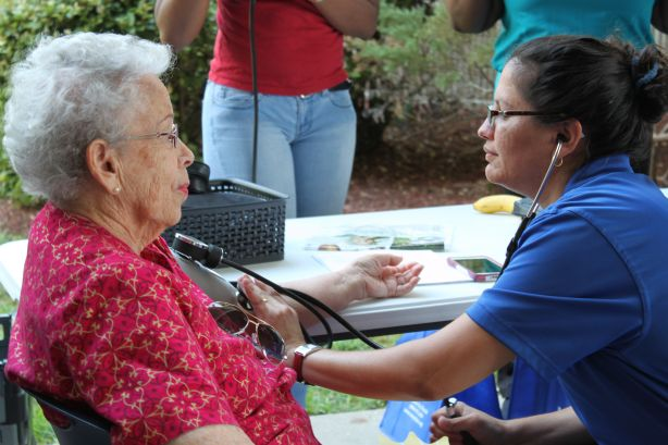 Community Participates in North Campus Health Literacy Fair