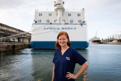 Travel Nurse Lends a Helping Hand Abroad