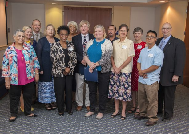 Retirees and Dedicated Employees Honored at Award Reception