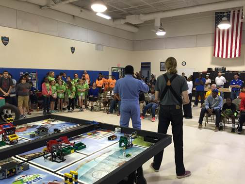 FSCJ Hosts US First Lego League Robotics Competition
