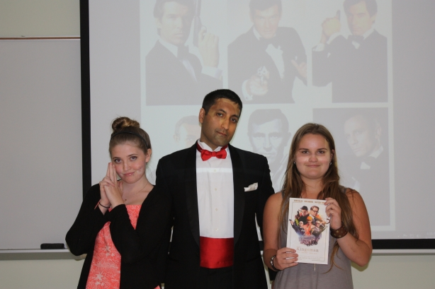 Professor Cosplays Bond to Engage Students