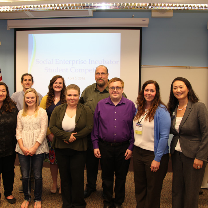 Students Present Winning Ideas in Social Enterprise Incubator Student Competition