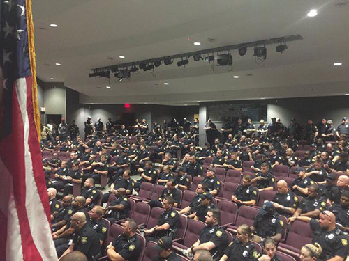 JSO Downtown Campus Auditorium-Hurricane Matthew