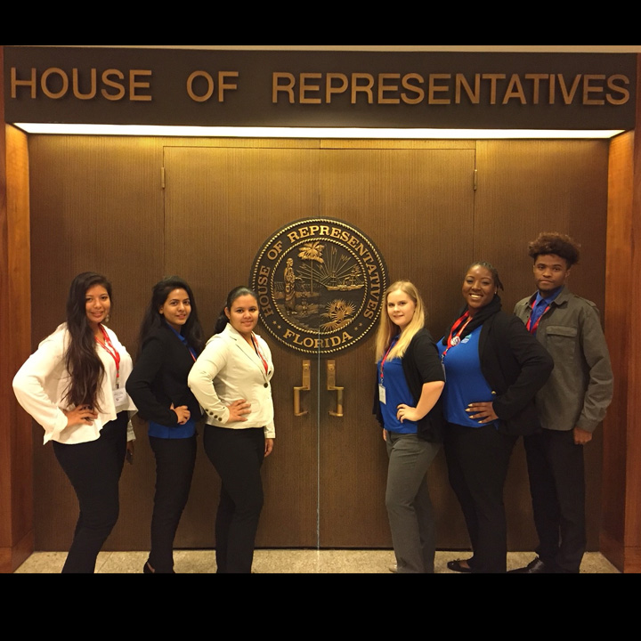 FSCJ's SGA Visits Tallahassee to Advocate for Peers