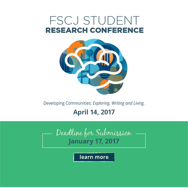 Deadline Approaching for FSCJ Student Research Conference Submissions
