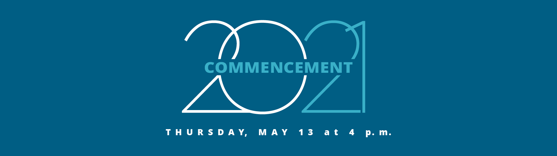 Commencement 2018 Banner