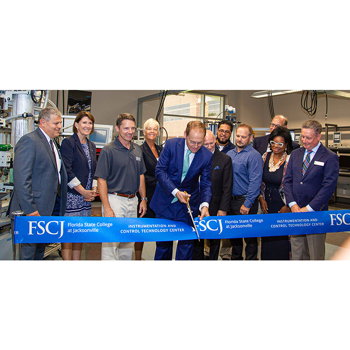 FSCJ Holds Instrumentation and Control Technology Center Grand Opening Event