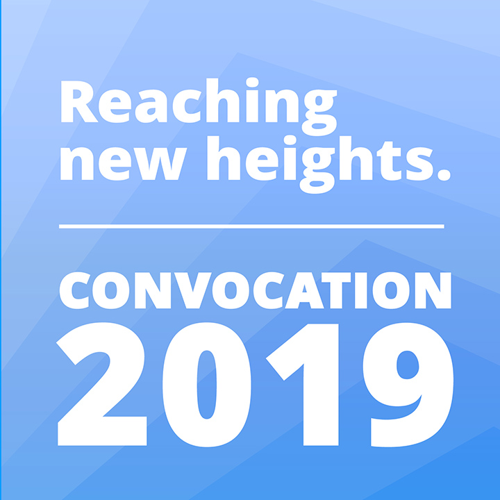 Join us for Convocation 2019