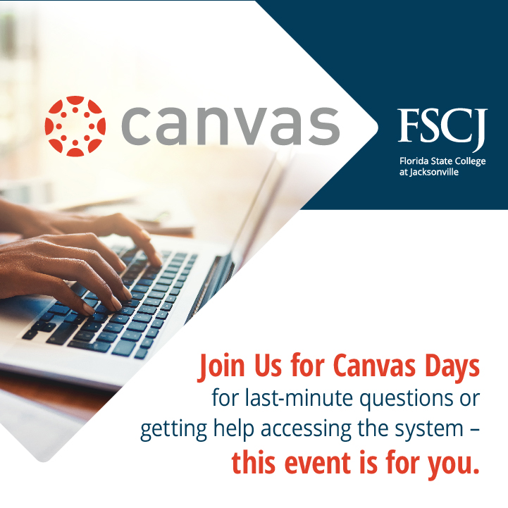 Save the Dates for Fall Term Canvas Days