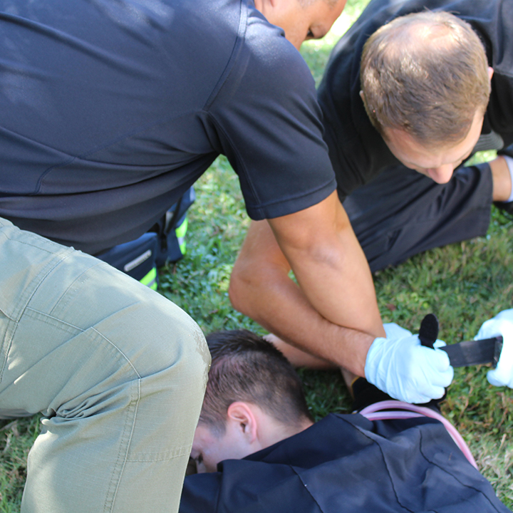 FSCJ EMS Students Participate in Stop the Bleed Campaign