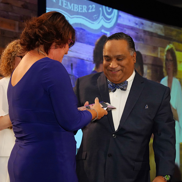 Dr. Jerry Santiago Receives National Recognition