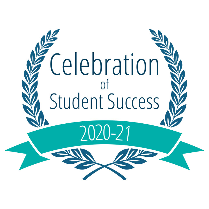 Students Recognized at Virtual Celebration of Student Success Events